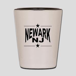 Newark NJ Shot Glass