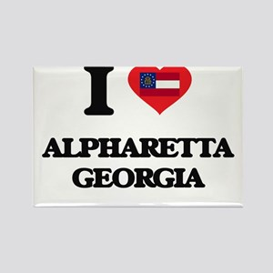 I love Alpharetta Georgia Magnets