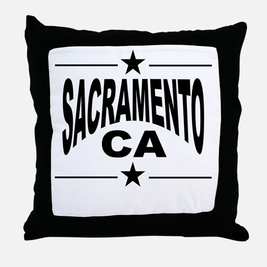Sacramento CA Throw Pillow