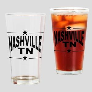 Nashville TN Drinking Glass