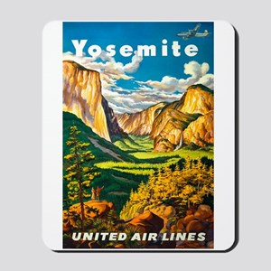 Yosemite National Park Mousepad