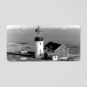 Seguin Lighthouse Aluminum License Plate