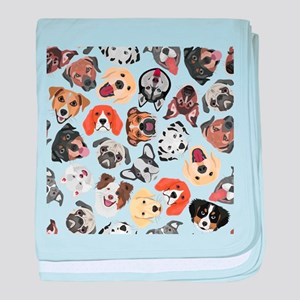 Illustration Pattern sweet Domestic D baby blanket