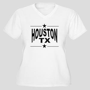 Houston TX Plus Size T-Shirt