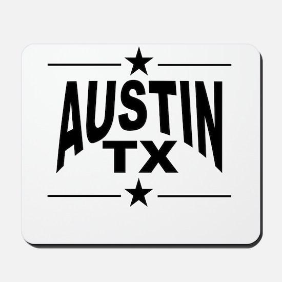 Austin TX Mousepad