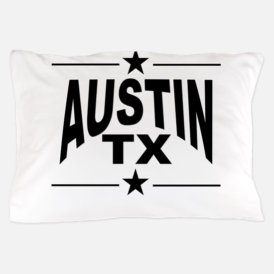 Austin TX Pillow Case