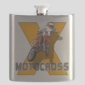 Extreme Motocross Flask