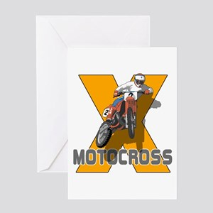 Extreme Motocross Greeting Card