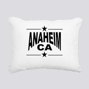 Anaheim CA Rectangular Canvas Pillow