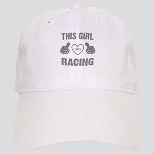 THIS GIRL LOVES RACING Cap