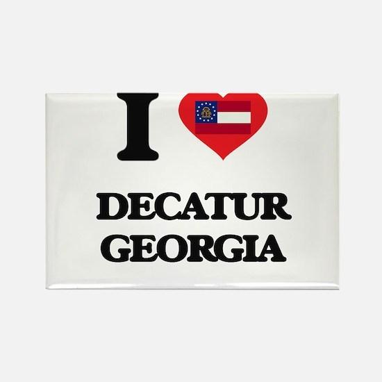 I love Decatur Georgia Magnets