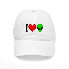 I Love Aliens Cap