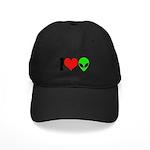 I Love Aliens Black Cap