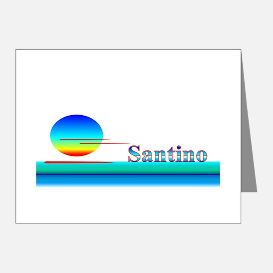 Santino Note Cards (Pk of 20)