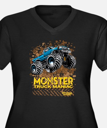 Monster Truck Maniac Plus Size T-Shirt