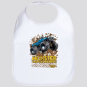 Monster Truck Maniac Baby Bib