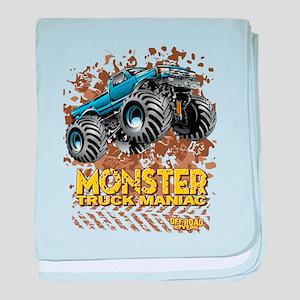 Monster Truck Maniac baby blanket