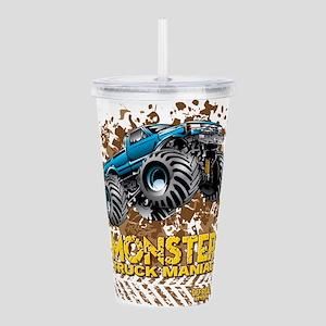 Monster Truck Maniac Acrylic Double-wall Tumbler