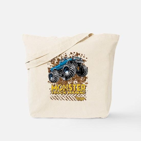 Monster Truck Maniac Tote Bag