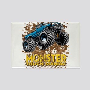 Monster Truck Maniac Magnets