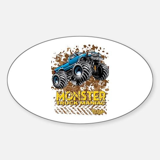 Monster Truck Maniac Decal