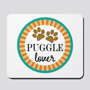 Puggle Dog Lover Mousepad