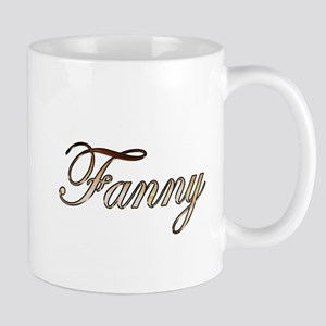 Gold Fanny Mugs