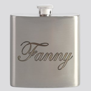 Gold Fanny Flask