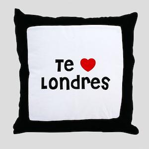 Te * Londres Throw Pillow