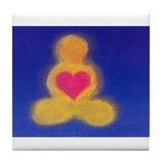 3.buddhalove? Tile Coaster