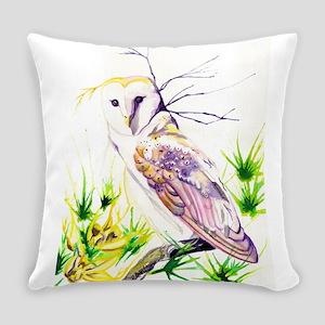 Owl; Furze Widom Everyday Pillow