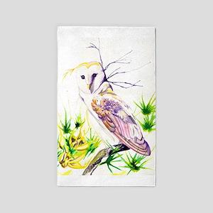 Owl; Furze Widom Area Rug