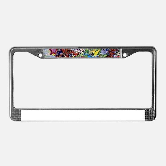 Cute Fun License Plate Frame