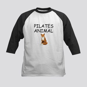 Pilates Animal Kids Baseball Jersey
