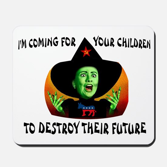HILLARY'S COMING Mousepad