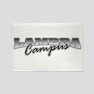 Lambda Logo Rectangle Magnet (10 pack)