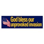 God Bless Our Unprovoked Invasion