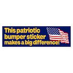 This Patriotic Bumper Sticker Makes a Big Differen