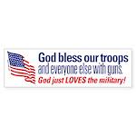 God Loves the Military!