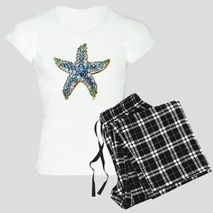 Rhinestone Starfish Costume Women's Light Pajamas