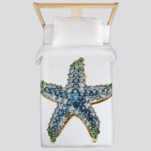 Rhinestone Starfish Costume Jewelry Sap Twin Duvet