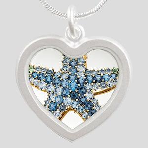 Rhinestone Starfish Costume Jewelry Sapp Necklaces