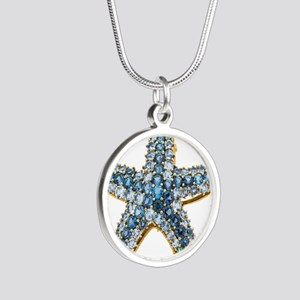 Rhinestone Starfish Costume Jewelry Sapp Necklaces