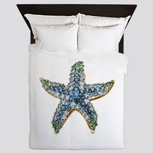 Rhinestone Starfish Costume Jewelry Sa Queen Duvet