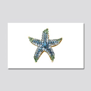 Rhinestone Starfish Costume Jew Car Magnet 20 x 12