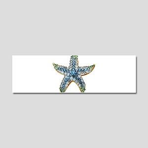 Rhinestone Starfish Costume Jewe Car Magnet 10 x 3