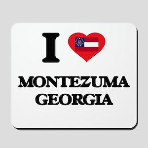 I love Montezuma Georgia Mousepad