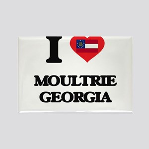 I love Moultrie Georgia Magnets