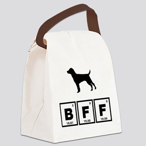 Patterdale Terrier Canvas Lunch Bag