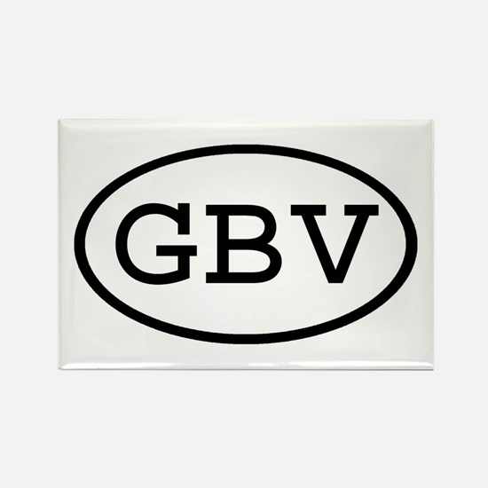 GBV Oval Rectangle Magnet